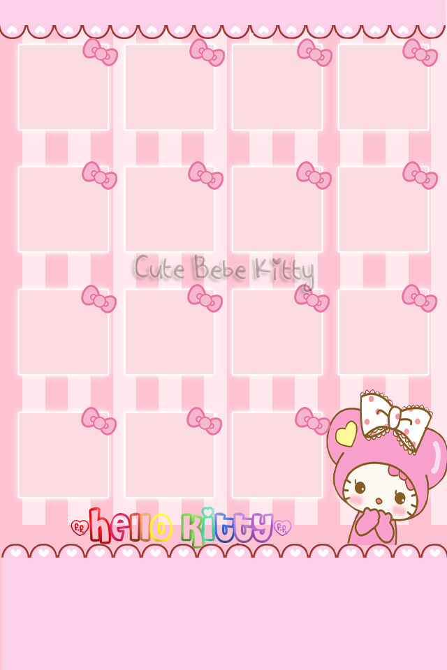 Home Screen Cute Pink Wallpaper Hd