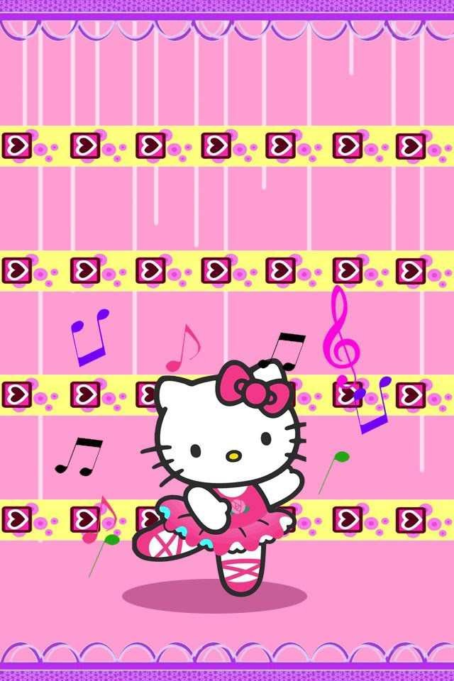 Hello Kitty theme for iPhone