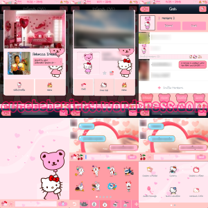 Hello Kitty LINE Theme