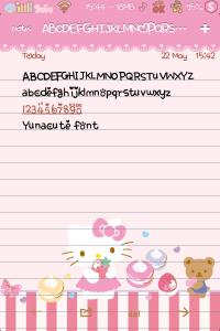 Yunacute Font