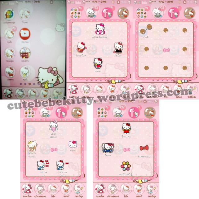 Hello kitty head assistive touch cute bebe kitty - Hello kitty chambre bebe ...