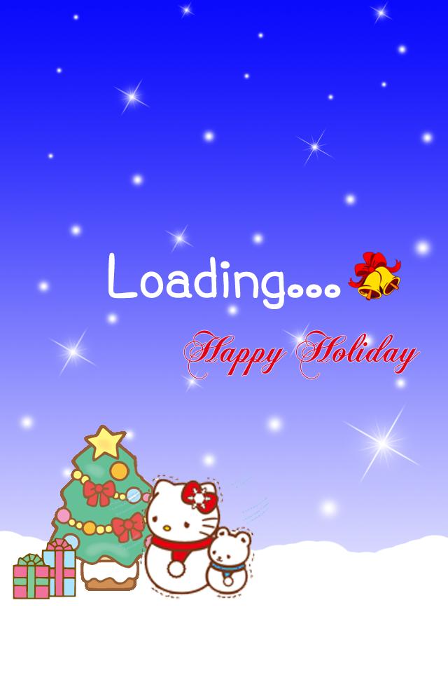 Hello Kitty Christmas Wallpaper Cute Bebe Kitty